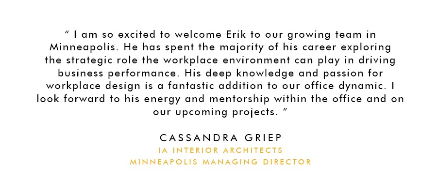 IA Interior Architects Minneapolis Managing Director