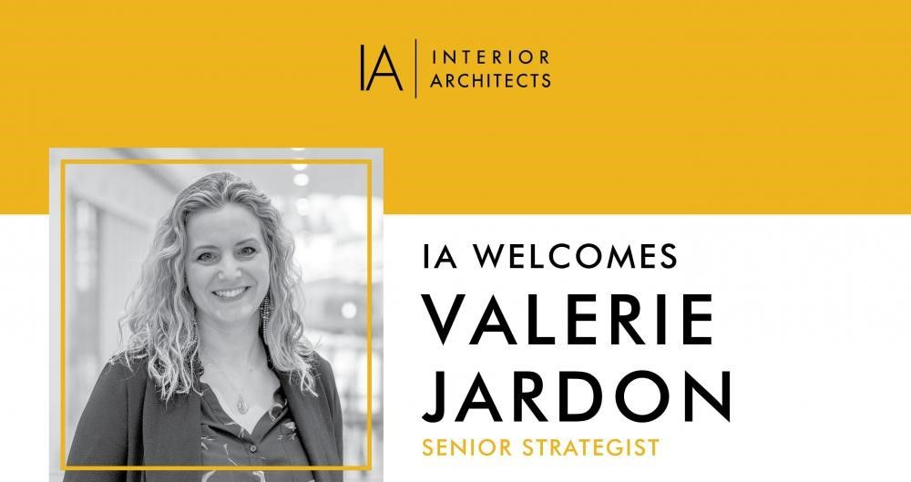 IA Interior Architects Welcomes Valerie Jardon