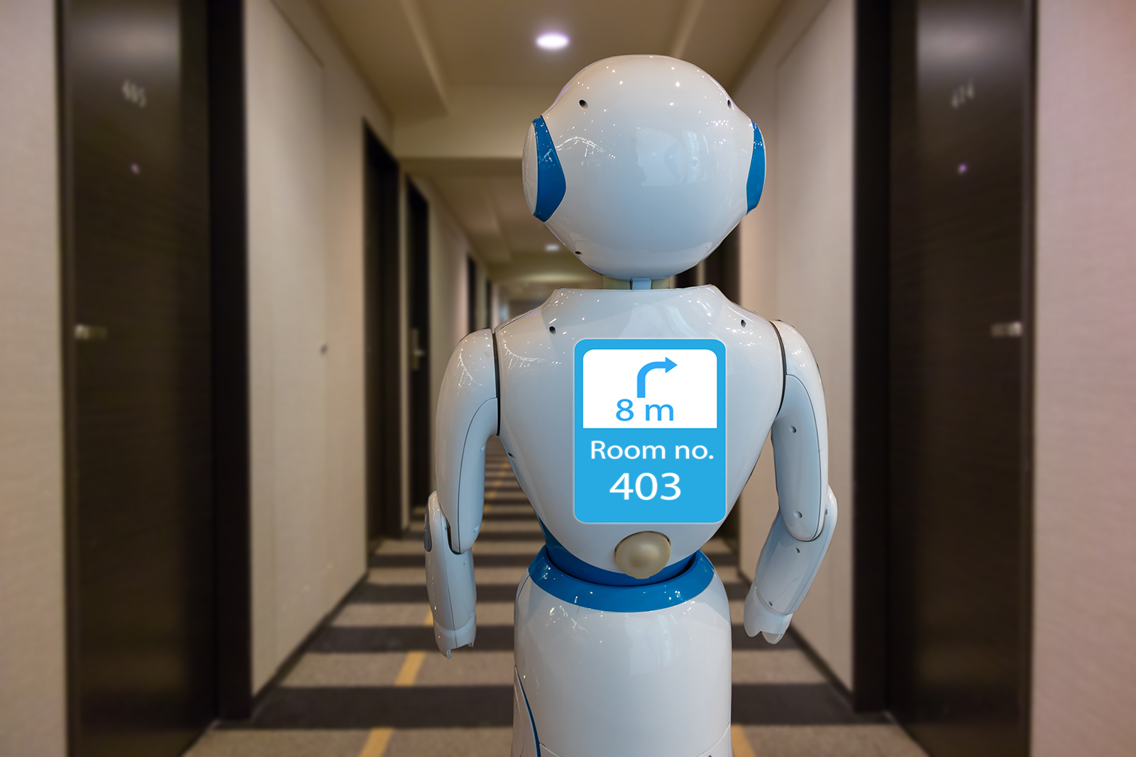 Robotics being used in hospitality spaces
