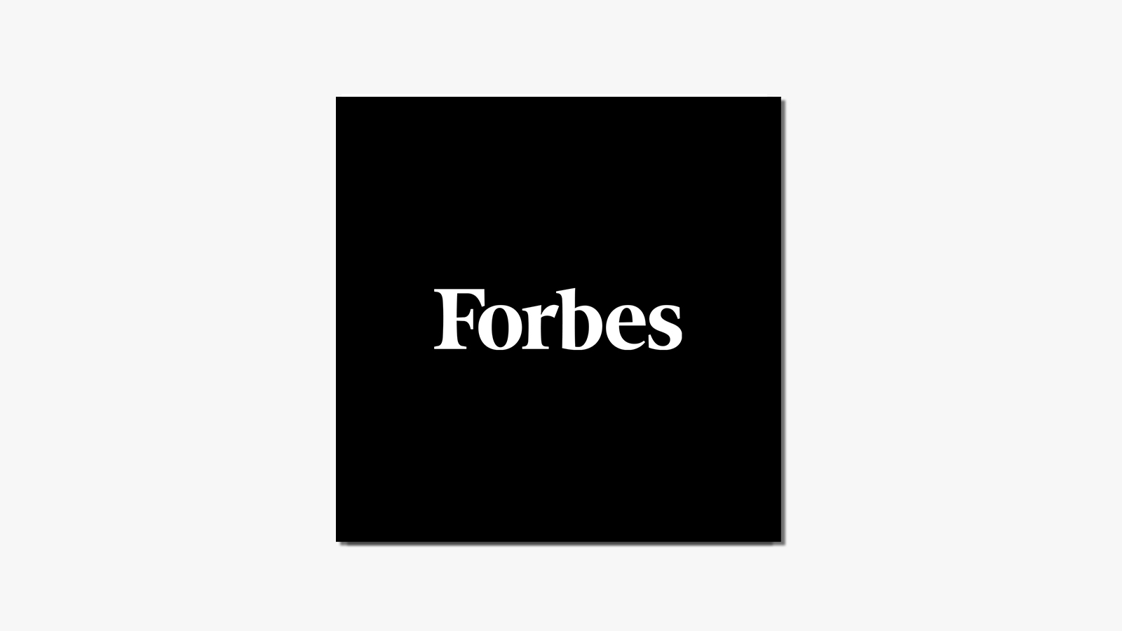 Forbes Logo - IA What They're Saying